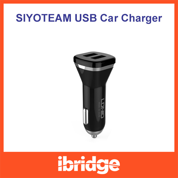 High Quality Universal Dual USB Port 5V 2.1A Car Charger,2port Smart Fuse Short Circuit Protection(China (Mainland))