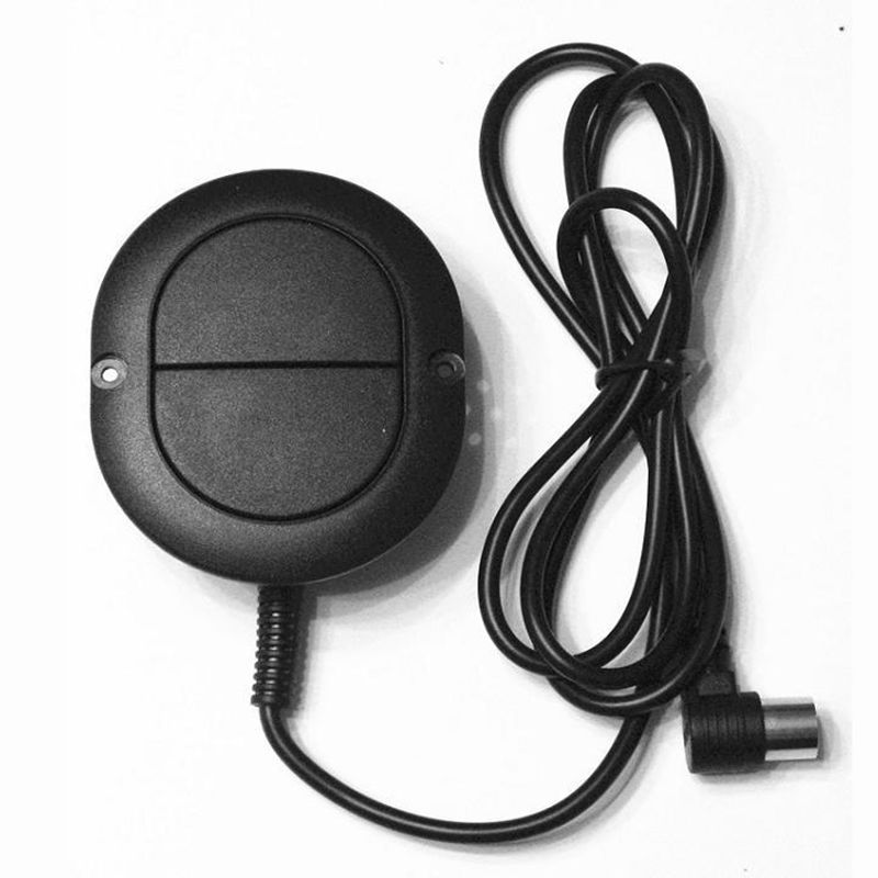 OKING liner actuator recliner sofa mechanism handset electrical bed two buttons oval shape elliptical control switch replacement(China (Mainland))