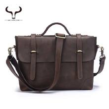 First Layer Of Leather Man Zipper Tote Bag Multifunction Designer Genuine Leather Men Tote Bags Sacs a Main de Cuero Genuino(China (Mainland))