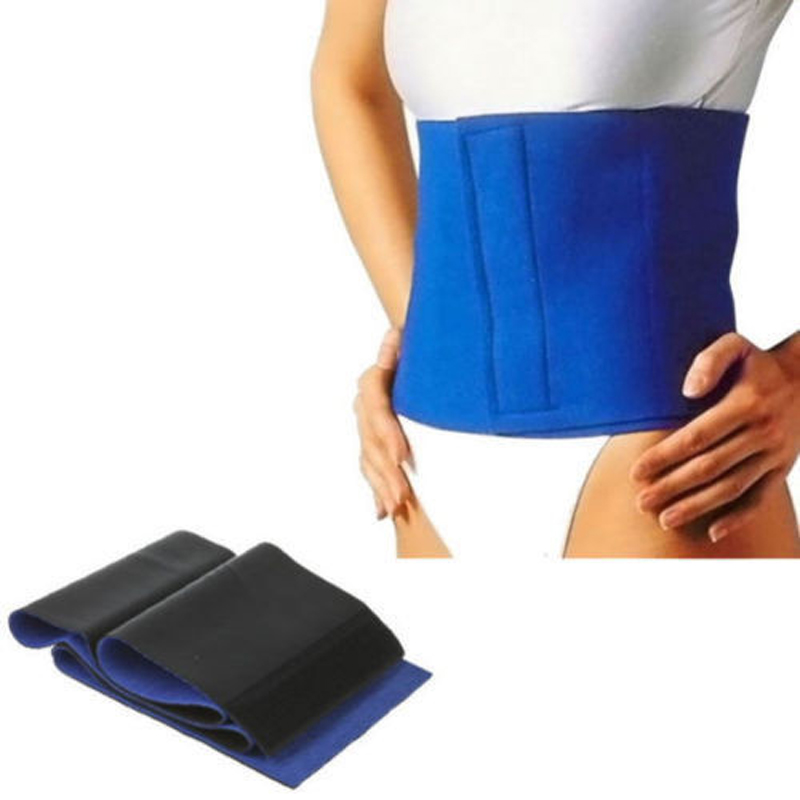 Fit Tight Slim Exercise Sauna Stretch Belly Shaper Waist Belt Wrap Fat Neoprene Hotsell Popular New Retail