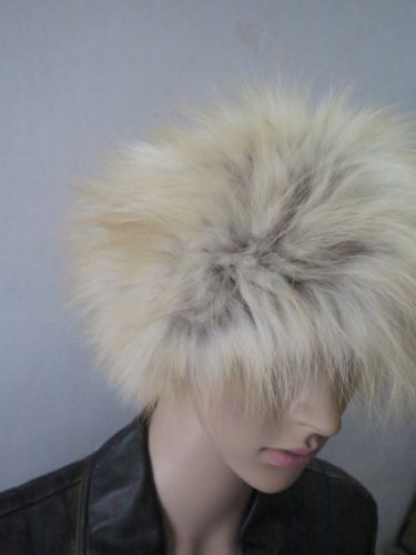 Details about Real FOX Fur headband/ scarf /cape/wrap/ light brown shipping free(China (Mainland))