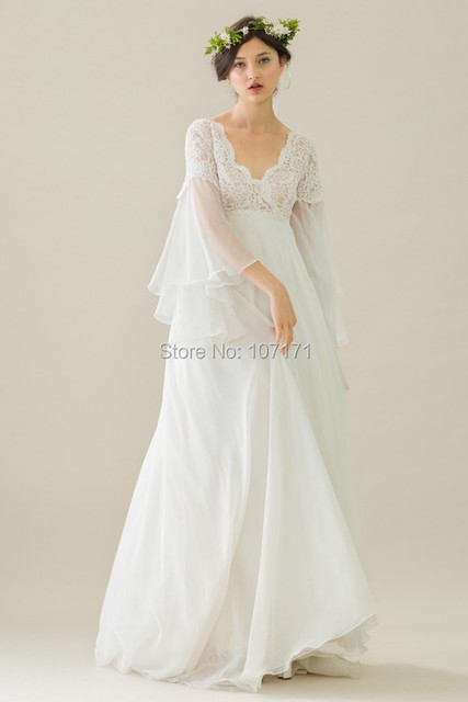 Babies on pinterest for Long sleeve lace maternity wedding dress