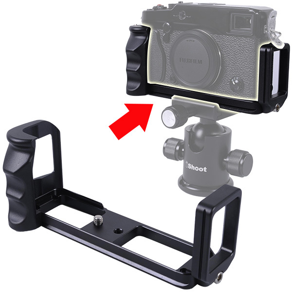 L Stype Bracket Tripod Ball Head Quick Release Plate Camera Holder Grip for Fujifilm Fuji X-pro 1 x pro 1(China (Mainland))