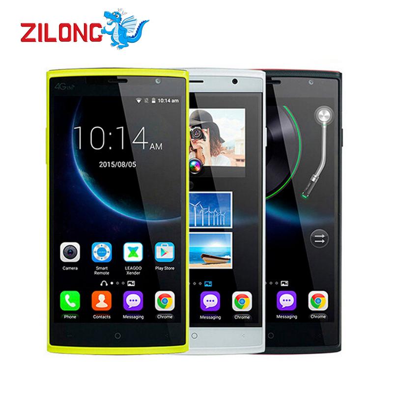 Original Leagoo Elite 5 5.5 inch IPS 1280x720 MTK6735 Quad Core Android 5.1 4G LTE Mobile CellPhone 2GB RAM 16GB ROM 13MP Celuar(China (Mainland))