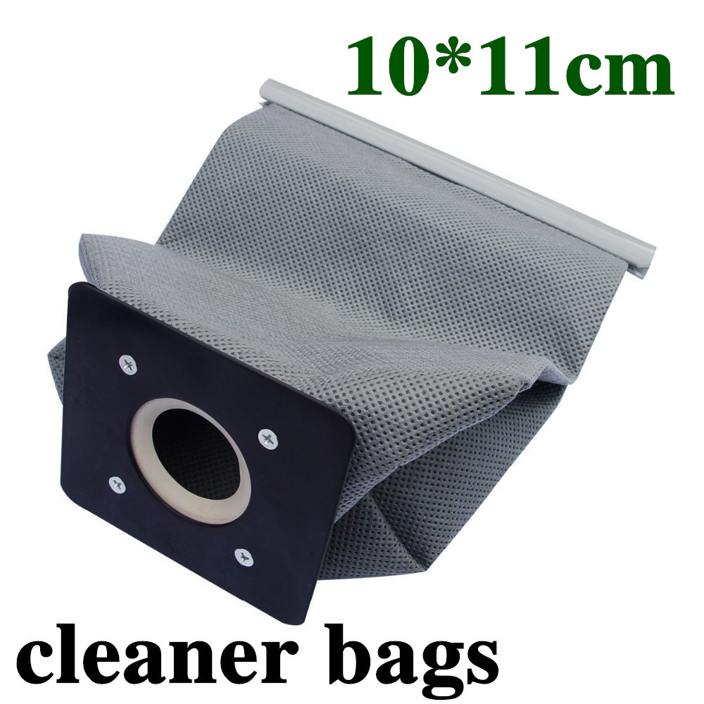 2 pcs/lot Free shipping vacuum cleaner bag 11x10cm non-woven bags hepa filter dust bag cleaner bags for cleaner #YNS002(China (Mainland))
