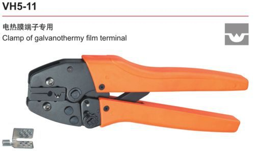 4.0mm2 VH5-11 Clamp of galvanothermy film terminal Ratchet Crimping Plier(China (Mainland))