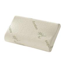Buy Rectangle Shape Neck Massage Pillows Comfort Orthopedic Bamboo Fiber Sleeping Pillow Memory Foam Pillows E5M1 for $12.96 in AliExpress store