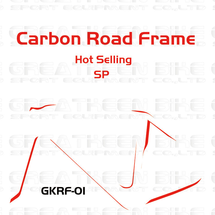 TOP SELLING carbon road frame GKRF01 Chinese cheap bike frame, carbon frame China,carbon bike ,chinese bicycle frames(China (Mainland))