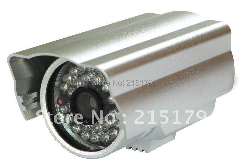 1/3 ccd 540TV Lines 36 LEDs IR Security Dome Audio CCTV Camera White +Free Shipping<br><br>Aliexpress