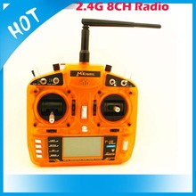2.4GHz 8 channel transmitter with three position flap Mkron orange digital proportional radio controller