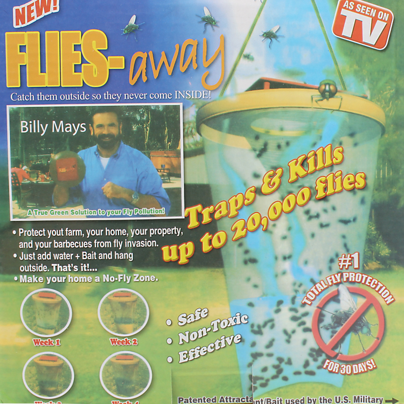 Flies Away Safe Non Toxic Effective Fly Catcher For Home