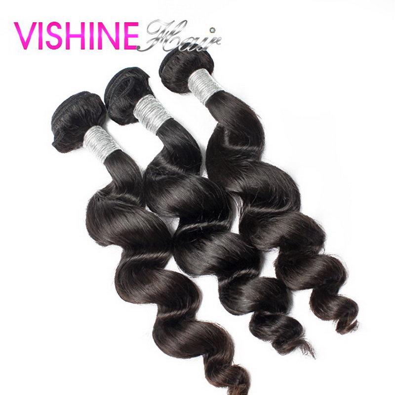 7A Free Shipping 3pcs Lot Indian Virgin Hair Hot Selling Indian Hair Weave 8-30 Sexy Formula Hair Indian Loose Wave Human Hair<br><br>Aliexpress