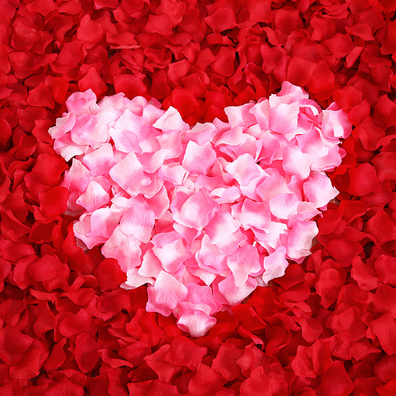 100 piece Silk Artificial Rose Flower Petals Wedding Aniversario Party Supplies Mariage Decoration Accessories Home Decor boda(China (Mainland))