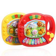 Puzzle Baby Kids Musical Educational Animal Farm Piano Developmental Music Toy ME3L(China (Mainland))