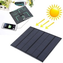 New best 6v 3.5w 580-600MA Solar Panel Power Bank two sockets Battery Charger high efficiency MP4 PDA(China (Mainland))