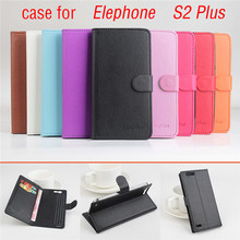 9 Color Litchi Texture High Quality Elephone S2 PLUS Leather Case Flip Cover for Elephone S 2 PLUS Case mobile Phone Cover Bags