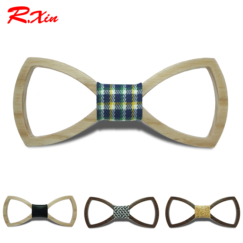2016 European Fashion Hollow out Personality Accessory Geometric Design Cheap Good Wood Hip Hop Bow Tie For Men Wooden Bow tie(China (Mainland))