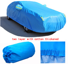 For Suzuki Grand Vitara Alto swift SX4 Jimny firm two layer Car covers with cotton thicken Waterproof Anti UV Snow Dust covers(China (Mainland))