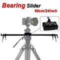 New Professional 60cm 24 Bearing Video Camera Track Slider Dolly Stabilizer System for DSLR Camcorder Better