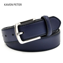 Buy Mens Luxury Waist Belts Man Designer Belts High Double Stitching Color Simple Classic Belt Free Shipment for $8.89 in AliExpress store