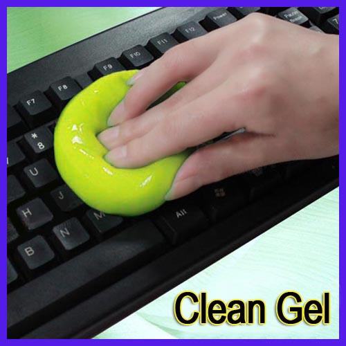 2016 Newest Hot Sale Super Clean Magic Cleaning Laptop Keyboard Cyber Dust Cleaner Gel Compound High Quality(China (Mainland))