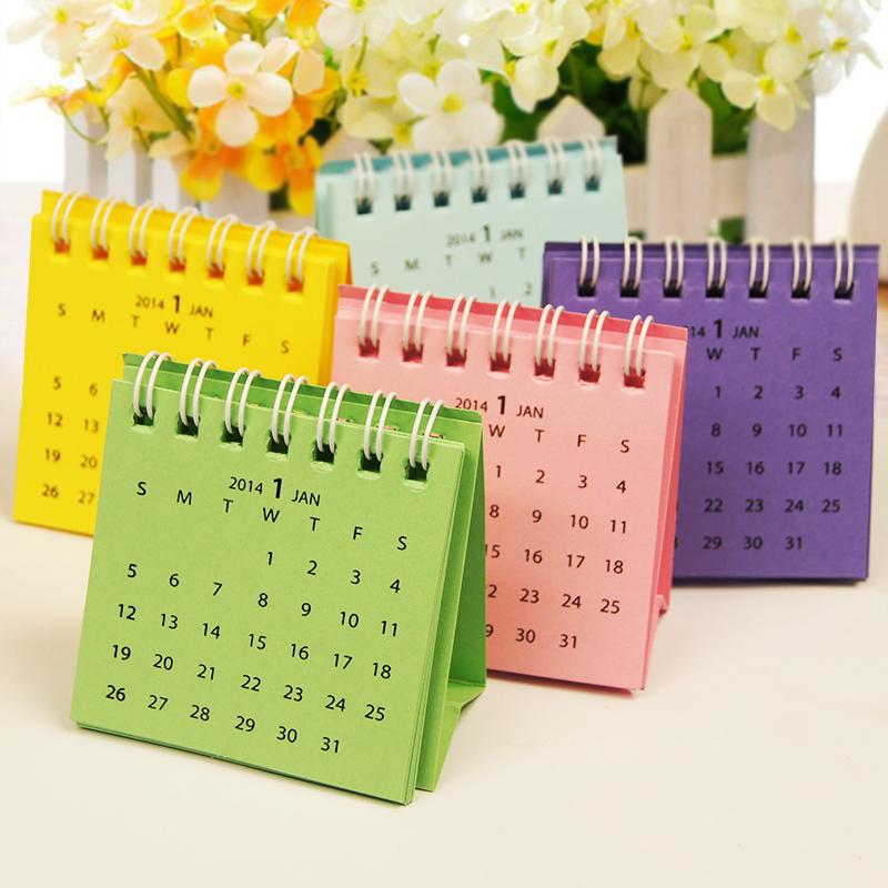 Diy Calendar Size : Small desk calendar front cover