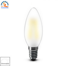 Buy RXR frosted candle bulb E14 E12 2w 4w 6w C35 B10 220/110v Bent Tip Vintage Chandelier Candle LED Filament Bulb Lamp Light for $2.19 in AliExpress store