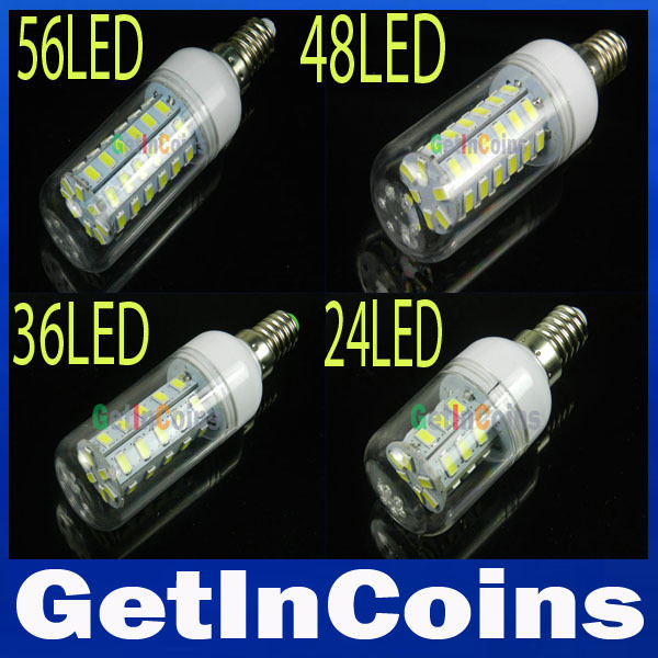 E14 220V/110V SMD5730 LED Bulb 9W 12W 15W 20W 25W 35W E14 LED lamp Warm white/white candlle bulb(China (Mainland))