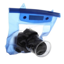 Buy New 20M Waterproof DSLR SLR digital Camera outdoor Underwater Housing Case Pouch Dry Bag Canon Nikon Hot Selling for $3.77 in AliExpress store