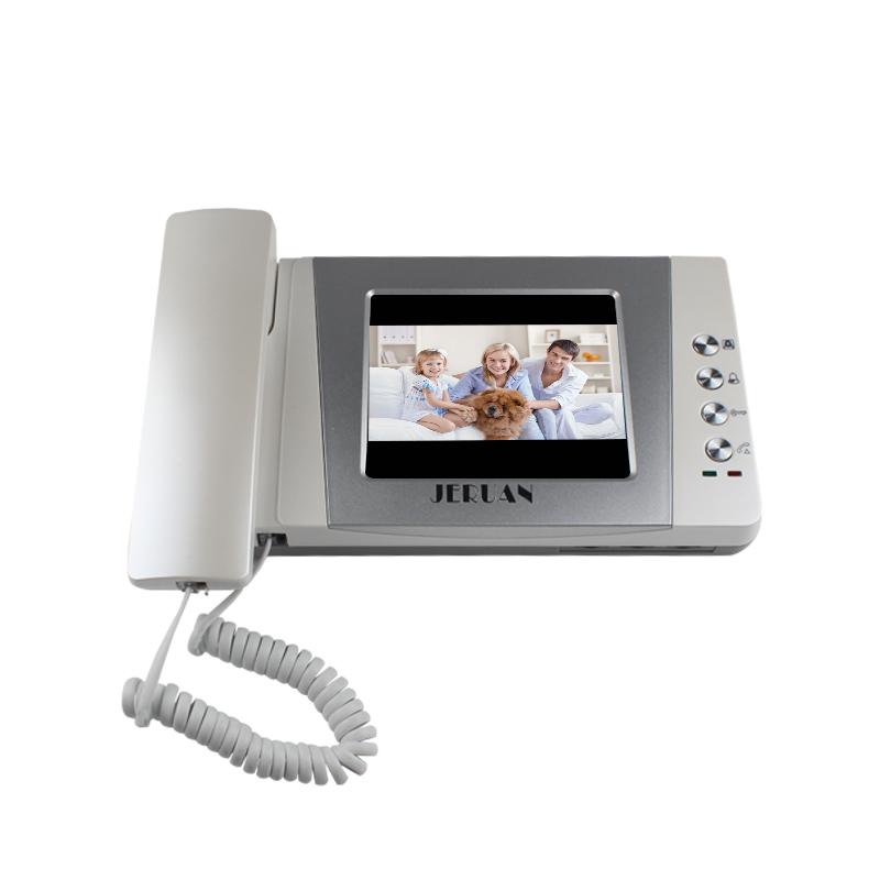 "JERUAN 4.3"" Video Door Phone intercom System Kit +700TVL RFID Waterproof IR Night vision Camera + ELectric Drop Bolt lock"