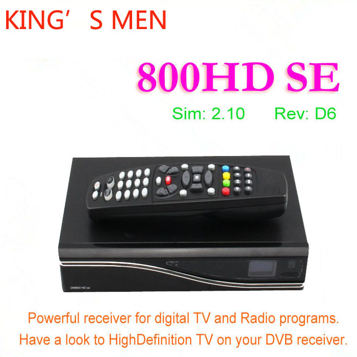 1pcs satellite receiver dreambox DM 800 hd se dm 800hd se wifi sim2.10 Linux Enigma 2 400mhz Rev D11 set top box dm800 se(China (Mainland))