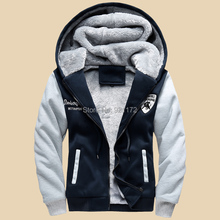 2015 new Male winter thickening cotton clothes teenage winter outerwear men's clothing slim cotton-padded jacket