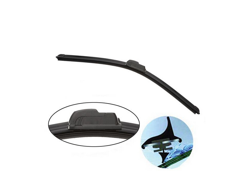 "2PCS Car accessories Wiper blades,for renault Dacia Logan 20""+20"",Apply to 2004+ models,Universal U-type car Boneless wipers(China (Mainland))"