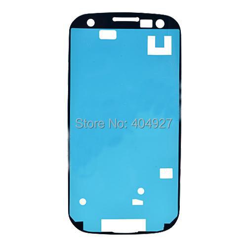 For Galaxy S3 I9300 i9305 i535 i747 L710 i747 T999 Front Housing Frame Bezel Plate Adhesive Sticker OEM Parts(China (Mainland))
