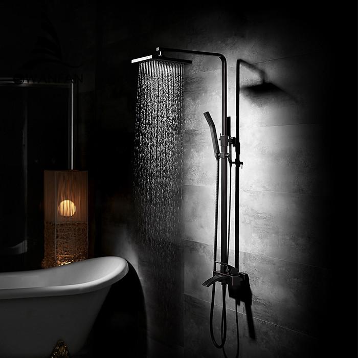 Compra ducha mezclador de agua fr a y caliente online al for Manija para ducha