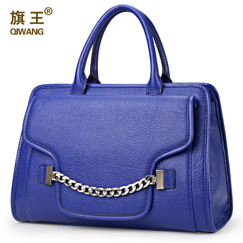In the summer of 2015 women leather handbags fashion chain head layer cowhide messenger bag <br><br>Aliexpress