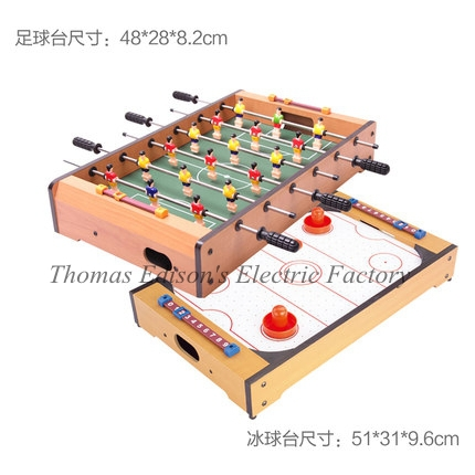 Mesa Selling Soccer Table Backgammon Wooden Football Game Foosball Toys The Children's Machine billiards ice hockey games(China (Mainland))