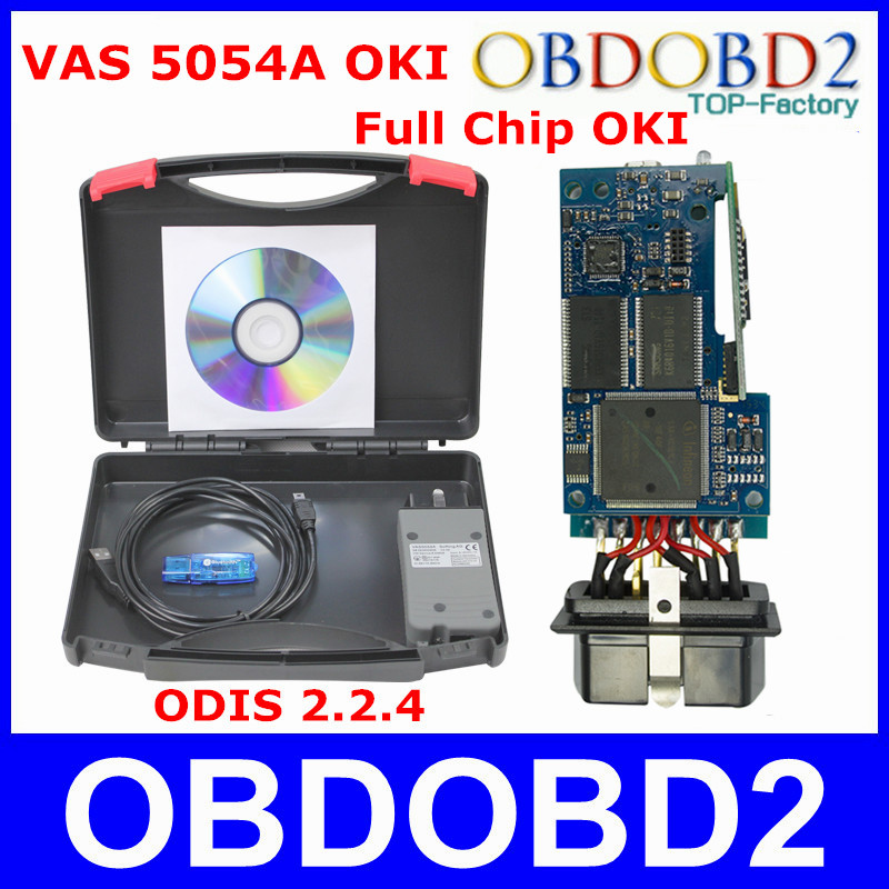 With OKI Chip VAS 5054A Full Chip Newest Software ODIS 2.2.4 Free Activate VAS5054A Bluetooth VAS5054 A Car Diagnostic Scanner<br><br>Aliexpress