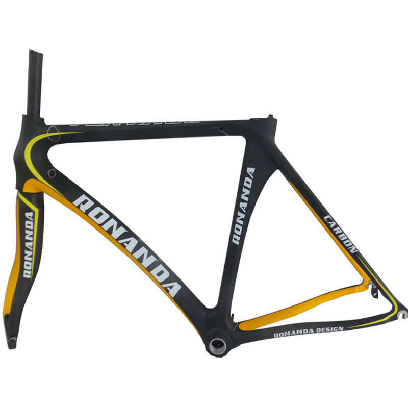 T700 carbon fiber carbon frames RONANDA Bike road Frameset bicycle Frame&Fork Ship From USA(China (Mainland))