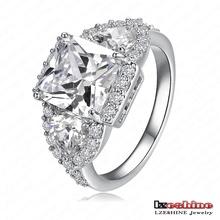 LZESHINE 2015 New Wedding Rings 18K Gold/Platinum Plated Micro Inlay Zircon Angel Wings Rings Wholesale anillos de boda CRI0005(China (Mainland))