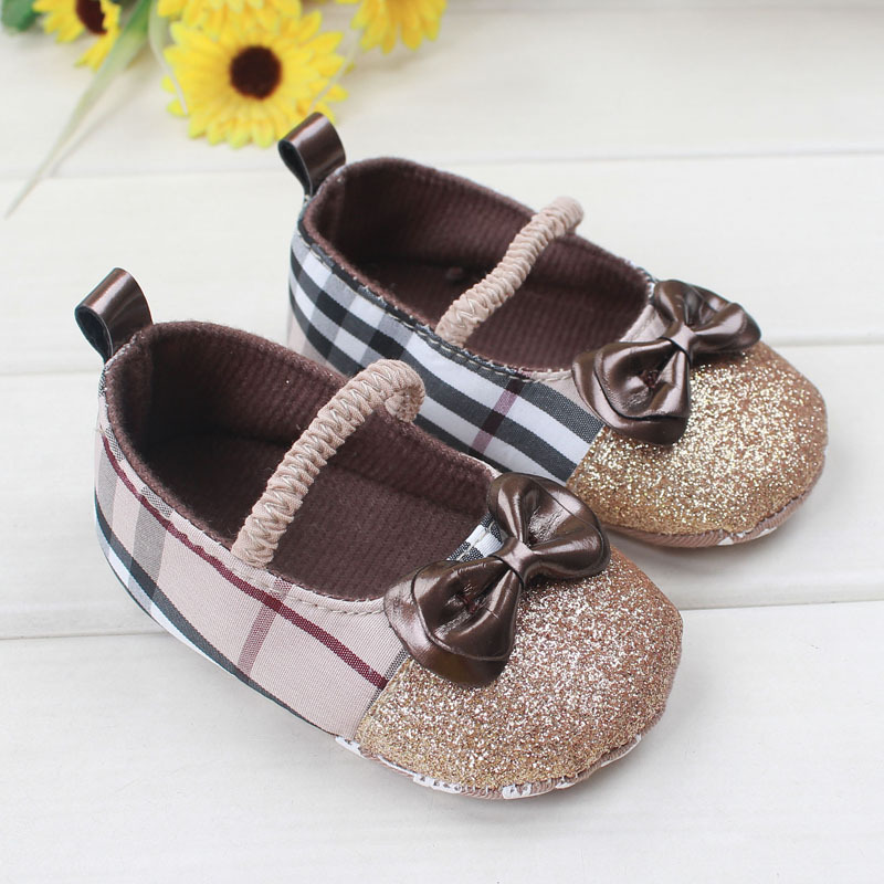 Charming England style Infant Footwear Casual Baby first walkers Bow-knot decoration nonslip toddler shoes(China (Mainland))