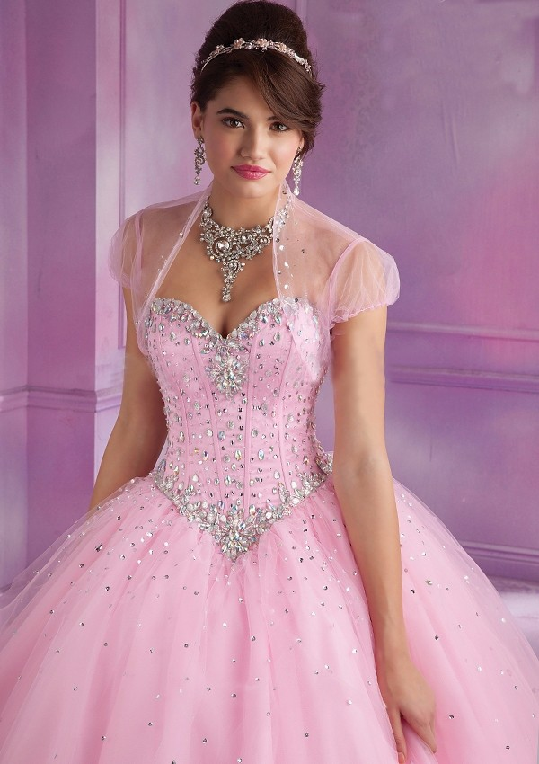 2015-Latest-Design-Ball-Gown-Quinceanera-Dresses-Pink-With-Jacket-Dress-15-Years-Sweetheart-Beaded-Bodice (2)