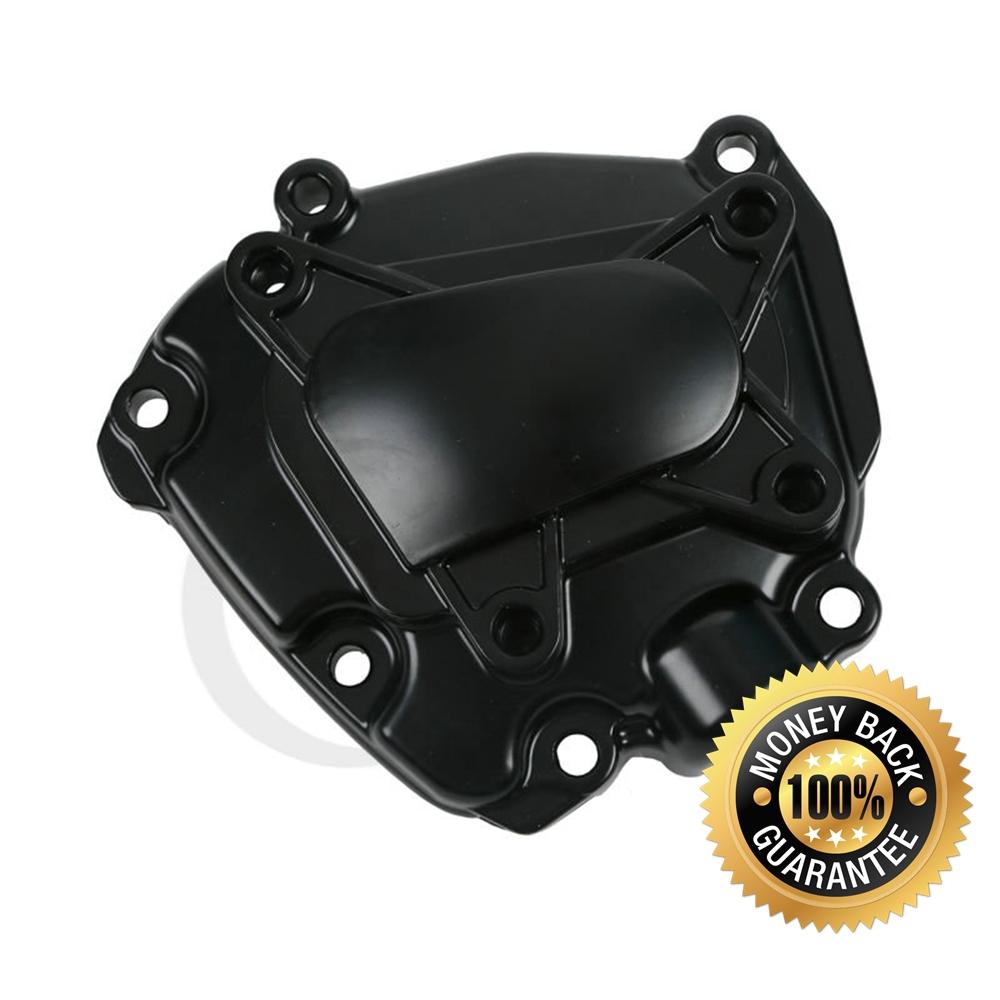 Aluminum Black Engine Stator Crank Case Generator Cover Crankcase Yamaha YZF R1 2009 2010 2011 2012 2013 2014