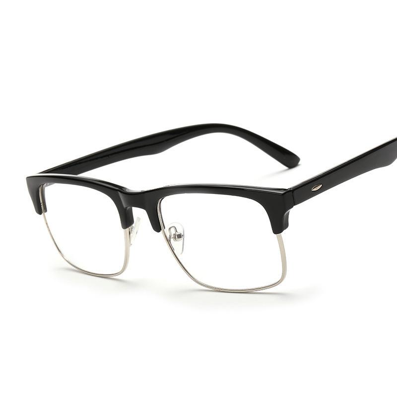 2016 New Plastic and Metal Women Men Glasses Eyeglasses ...