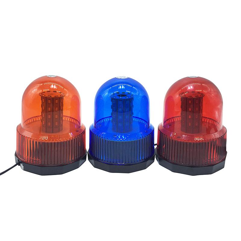 40 LED DC12V Red Yellow Blue car Vehicle Police LED Strobe rotating flashing Warning light Emergency Beacon lamp(China (Mainland))