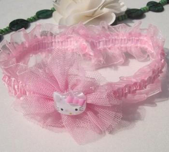 FREE SHIPPING/Hot Selling Fashion KidsChildren Girl Lovely  Lace Flower Headbands Girls Princess Headwrap/Hair Accessory