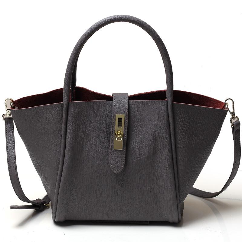 Genuine Leather Bags for Women Fashion Black Tote Bag Women Leather Handbag Shoulder Bag Messenger Bags Handbag<br><br>Aliexpress