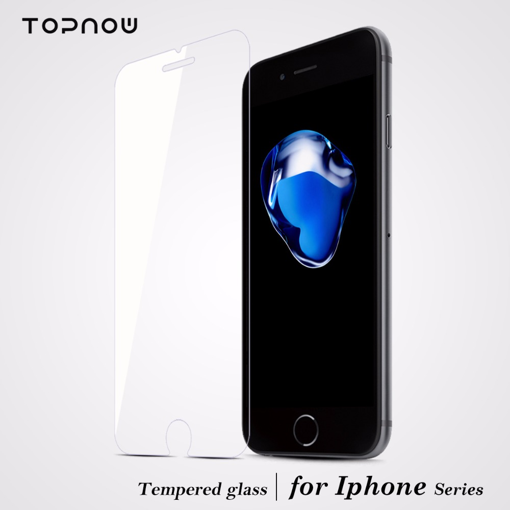 Tempered Glass Screen Protector Film For Apple iphone 4s 5s 5c SE 6s 7 Plus 9H 2.5D Toughened Protective Guard With Clean Kit(China (Mainland))