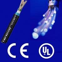 Waterproof g657a fiber optical cable with CE and ISO