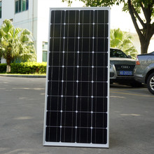 100W 12V Monocrystalline Solar Panel  for 12V Battery